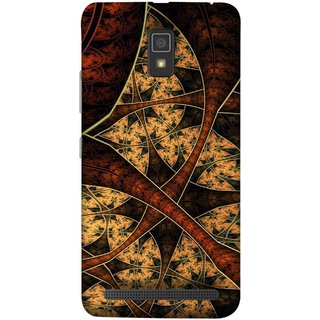 FUSON Designer Back Case Cover For Lenovo A6600 (Colour Canvas For Hall Bedroom Painting Intresting)