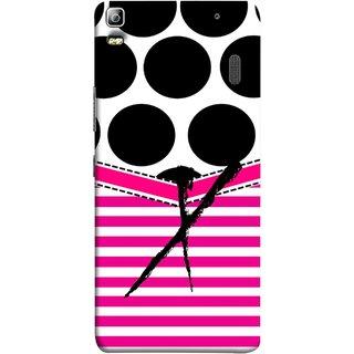 FUSON Designer Back Case Cover For Lenovo K3 Note :: Lenovo A7000 Turbo (Beautiful Cute Nice Couples Pink Design Paper Girly)