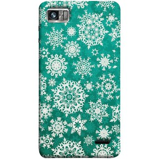 FUSON Designer Back Case Cover For Lenovo K860 :: Lenovo IdeaPhone K860 (Different Size Winter Snow Enjoying Ornaments Green)