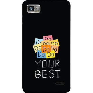 FUSON Designer Back Case Cover For Lenovo K860 :: Lenovo IdeaPhone K860 (Forget The Rest Quotes Happy In Life)