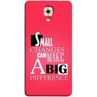 FUSON Designer Back Case Cover For Gionee M6 (Chote Chote Badlav Bada Farak Best Quotes Sayings)