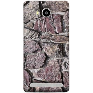 FUSON Designer Back Case Cover For Lenovo A7700 (Sandstone Bricks Of Irregular Shapes Slotting Together )