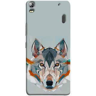 FUSON Designer Back Case Cover For Lenovo K3 Note :: Lenovo A7000 Turbo (Multicolour Dogs Perfect Look King Bird Night Tree)