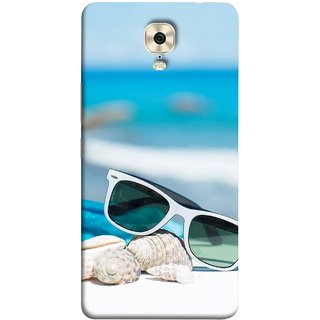FUSON Designer Back Case Cover For Gionee M6 (Summer Vacation Beach Mobile Wallpaper Blue Sky )