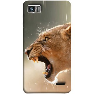 FUSON Designer Back Case Cover For Lenovo K860 :: Lenovo IdeaPhone K860 (Tiger Lion Chitta Angrily Looking Killer Hunter Shikari)