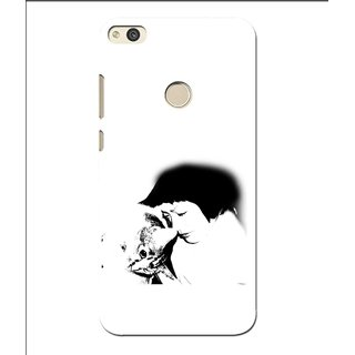 Snooky Printed Pet Lover Mobile Back Cover For Huawei P8 Lite (2017) - Multi