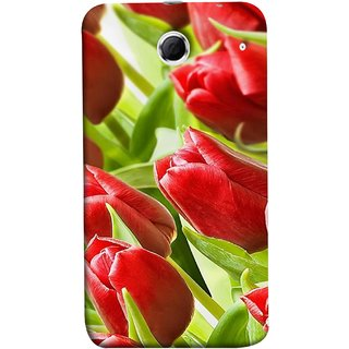 FUSON Designer Back Case Cover For Lenovo K880 (Close Up Red Roses Chocolate Hearts For Valentines Day)