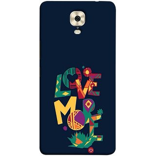 FUSON Designer Back Case Cover For Gionee M6 (I Love You Always Lovers Valentine Hearts Kiss )