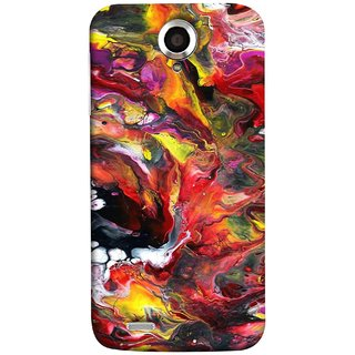 FUSON Designer Back Case Cover For Lenovo S820 (Art Gallery Style Wallpaper Wow Perfect Wall Paint)