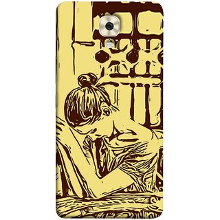 FUSON Designer Back Case Cover For Gionee M6 (Photo Upset Hotel Club Hands Together Pub Thinking)