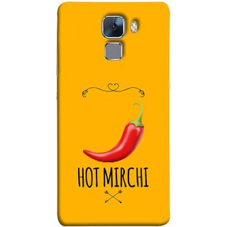 FUSON Designer Back Case Cover For Huawei Honor 7 :: Huawei Honor 7 (Enhanced Edition) :: Huawei Honor 7 Dual SIM (Radio Mirchi Show Hot Love Guru Teacher Mantra)