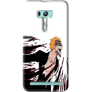Snooky Printed Angry Devil Mobile Back Cover For Asus Zenfone Selfie - Multi