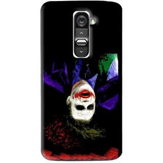 Snooky Printed Hanging Joker Mobile Back Cover For Lg G2 Mini - Multi