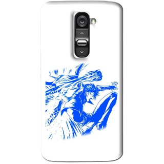 Snooky Printed Horse Boy Mobile Back Cover For Lg G2 Mini - Multi