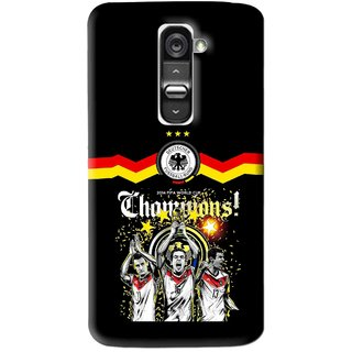 Snooky Printed Champions Mobile Back Cover For Lg G2 Mini - Multi
