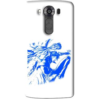 Snooky Printed Horse Boy Mobile Back Cover For Lg V10 - Multi
