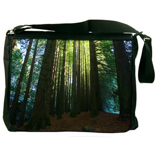 Many Tress Digitally Printed Laptop Messenger  Bag
