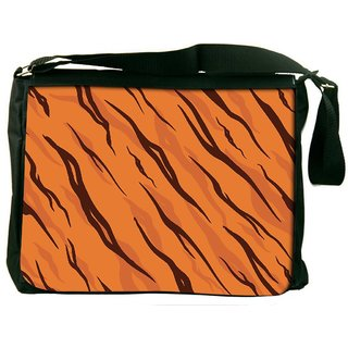 Adivasi Styles Digitally Printed Laptop Messenger  Bag