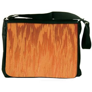Fire Flames Digitally Printed Laptop Messenger  Bag