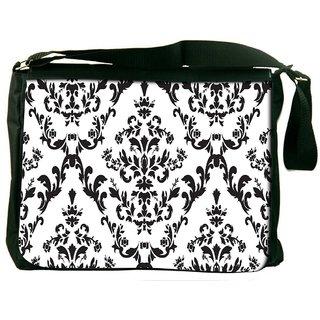Amazed Pattern Digitally Printed Laptop Messenger  Bag