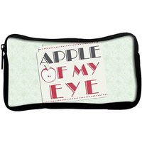 Apple Of My Eye Poly Canvas  Multi Utility Travel Pouch
