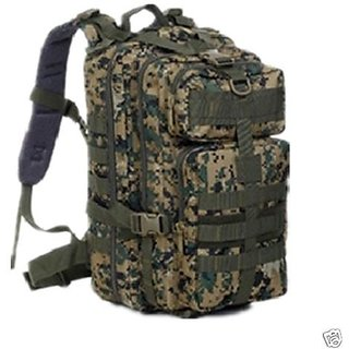 Aeoss Travel Hiking Camping Army Military Backpack Sport Outdoor Bag Free 3in1 Whistle (A257)