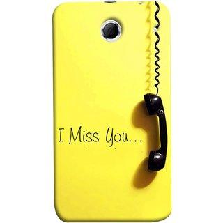 FUSON Designer Back Case Cover For Lenovo K880 (Always I Love You Red Hearts Couples Together Valentine)