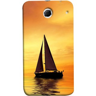 FUSON Designer Back Case Cover For Lenovo K880 (Sailing Ships Sailboats Ocean Pond Sea River)