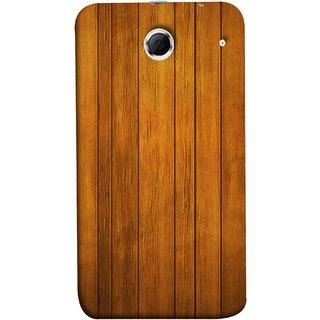 FUSON Designer Back Case Cover For Lenovo K880 (Unique Wooden Pine Background Vintage Table Tiles)