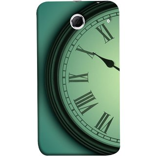 FUSON Designer Back Case Cover For Lenovo K880 (Time Lapse Of Antique Clock Old Wooden Vintage Time)