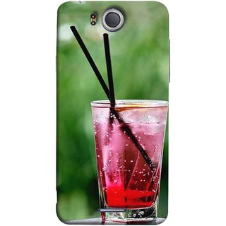 FUSON Designer Back Case Cover For InFocus M530 (Glass Full Of Cold Fresh Squeezed Watermelon Juice)
