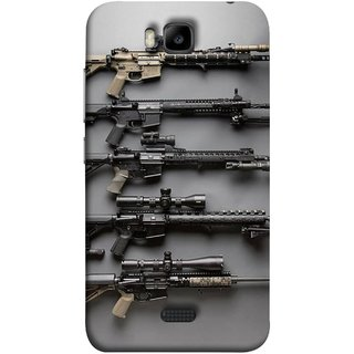 FUSON Designer Back Case Cover For Huawei Honor Bee :: Huawei Honor Bee Y5c (Rounds Ammunition Bullets Guns Aurora Murders)