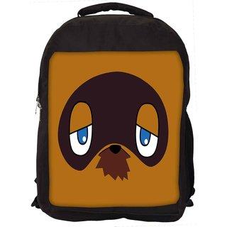 Grumpy In Face Designer Laptop Backpacks