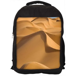 Sunny Desert Digitally Printed Laptop Backpack