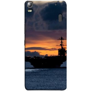 FUSON Designer Back Case Cover For Lenovo K3 Note :: Lenovo A7000 Turbo (Sunrise