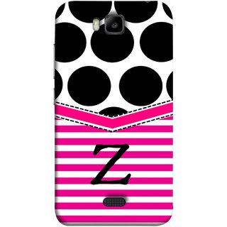 FUSON Designer Back Case Cover For Huawei Honor Bee :: Huawei Honor Bee Y5c (Beautiful Cute Nice Couples Pink Design Paper Girly)