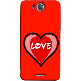 FUSON Designer Back Case Cover For InFocus M530 (Pink Red Wallpapers Flowers Lovers Boyfriends )