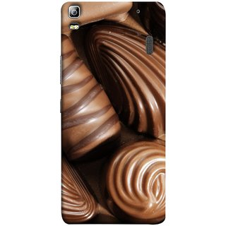 FUSON Designer Back Case Cover For Lenovo K3 Note :: Lenovo A7000 Turbo (Big Size Different Shapes Diy Silicone Handmade )