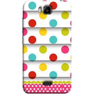 FUSON Designer Back Case Cover For Huawei Honor Bee :: Huawei Honor Bee Y5c (Loopable Background With Nice Glowing Spectrum)