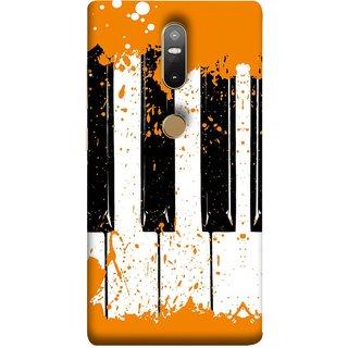 FUSON Designer Back Case Cover For Lenovo Phab 2 Plus :: Lenovo Phab2+ (Black And White Colour Splash Droplets Music )