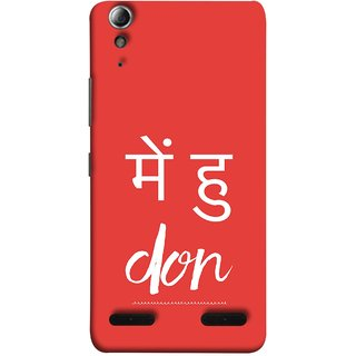 FUSON Designer Back Case Cover For Lenovo A6000 Plus :: Lenovo A6000+ :: Lenovo A6000 (I Am Don Daku Amitabh Bachchan Bollywood )