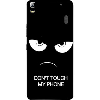 FUSON Designer Back Case Cover For Lenovo K3 Note :: Lenovo A7000 Turbo (Nice Best Quotes Words Saying Motivational Angry Eyes)