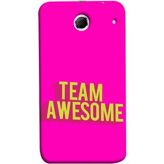 FUSON Designer Back Case Cover For Lenovo K880 (Teamwork Is Best Hardwork Alltogether Result Best)