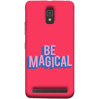 FUSON Designer Back Case Cover For Lenovo A6600 (Wand Magically Make Differnece To Others Life )