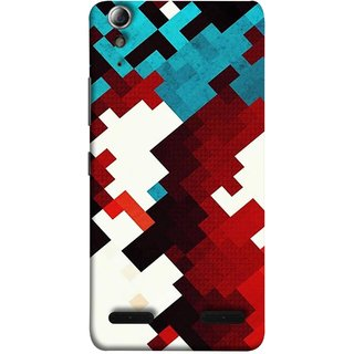 FUSON Designer Back Case Cover For Lenovo A6000 :: Lenovo A6000 Plus :: Lenovo A6000+ (Beautiful Mobile Wallpaper Bright Design Red Blue )