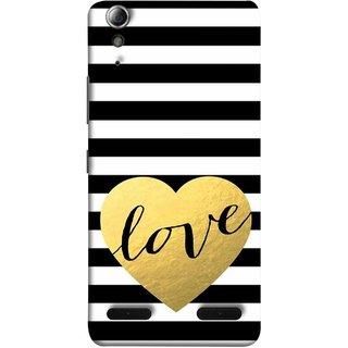 FUSON Designer Back Case Cover For Lenovo A6000 Plus :: Lenovo A6000+ :: Lenovo A6000 (Hearts Lovely Girls True Love Dark Font)