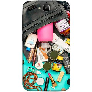 FUSON Designer Back Case Cover For Huawei Honor Holly 2 Plus :: Huawei Honor 2 Plus (Basic Wardrobe Closet Essentials And Basic Creams)