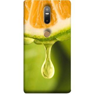FUSON Designer Back Case Cover For Lenovo Phab 2 Plus :: Lenovo Phab2+ (Orange Juice Dripping Slice Citrus Fruit Flesh)