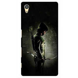 Snooky Printed Hunting Man Mobile Back Cover For Sony Xperia Z5 - Multi