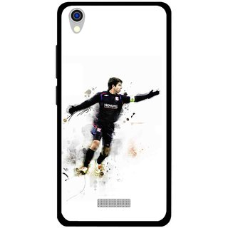 Snooky Printed Pass Me Mobile Back Cover For Lava Iris X9 - Multi